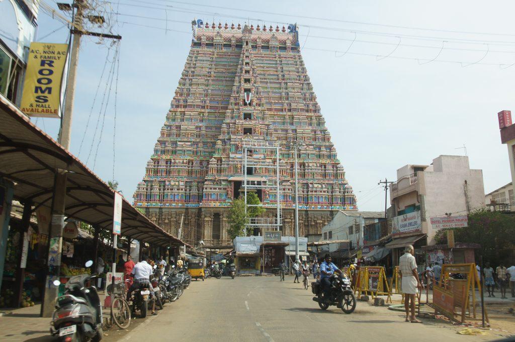 Gopuram Templo Meenakshi Amman – Madurai