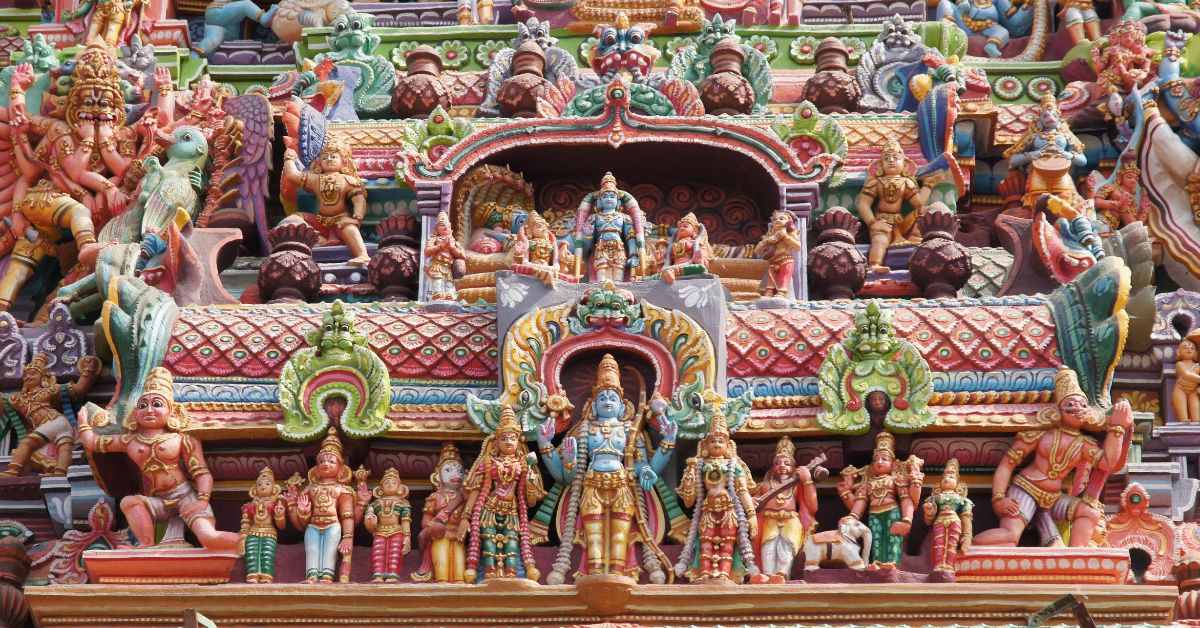 Esculturas Templo Meenakshi Amman – Madurai