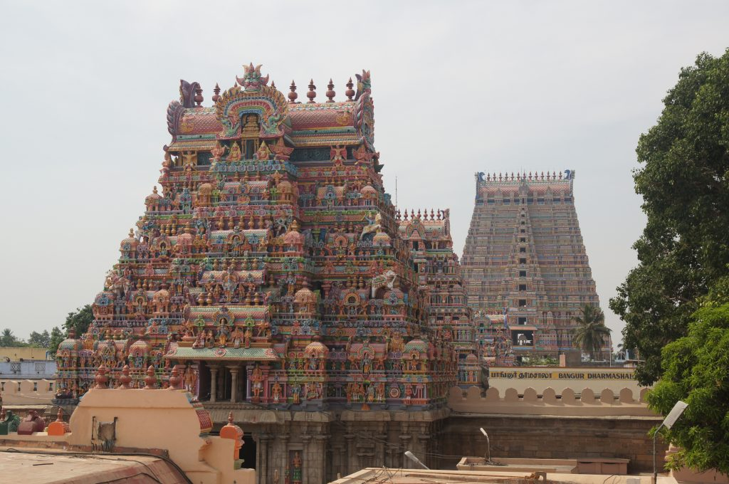 Torres Templo Meenakshi Amman – Madurai