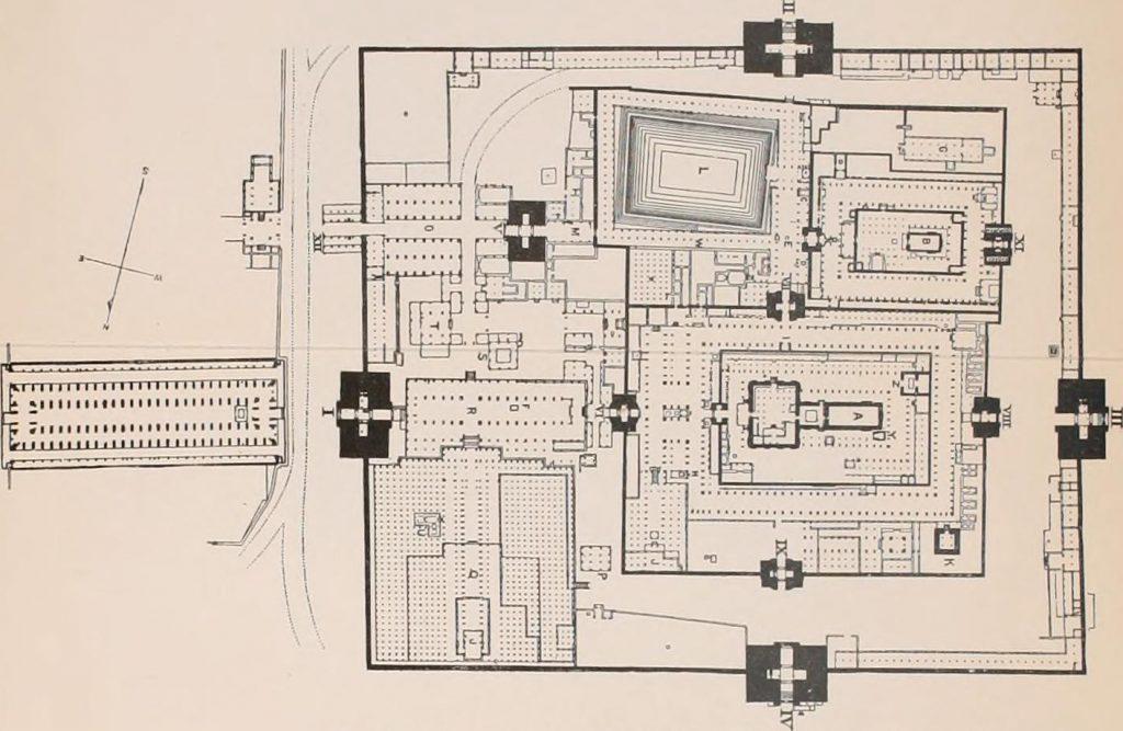 Plano Templo Meenakshi Amman – Madurai, Sur de India